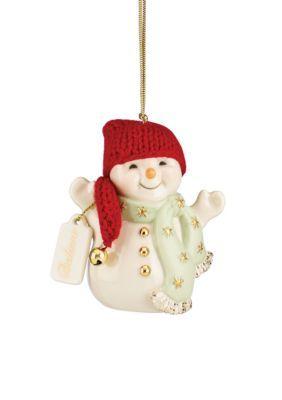 Lenox  Jingle All the Way Snowman Ornament
