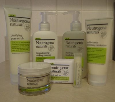 Getting Naturally Clean With Neutrogena Naturals Girl Gloss