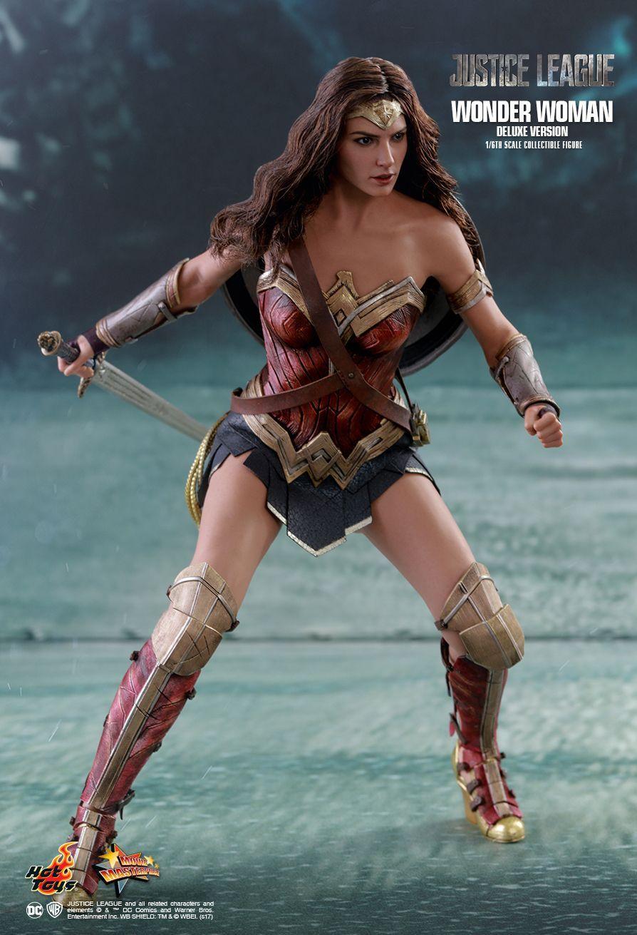 1//6 Scale Hot Toys MMS451 Justice League Wonder Woman hands set x 9 pcs