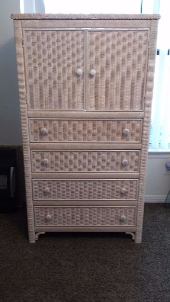 Wicker Henry Link Chest T V Cabinet Lexington Furniture Country