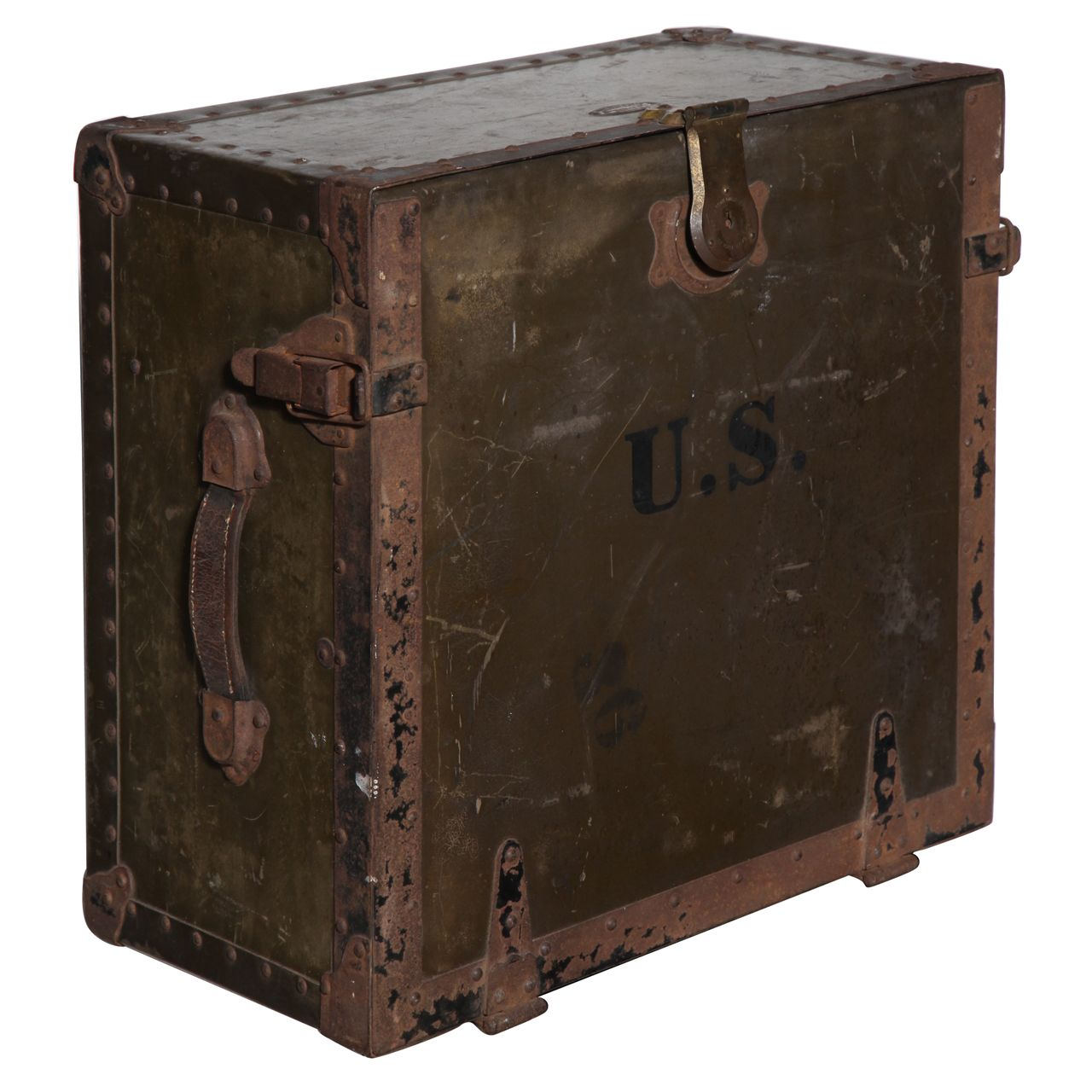WWI Army Field Desk boxes cases and other traveling lives
