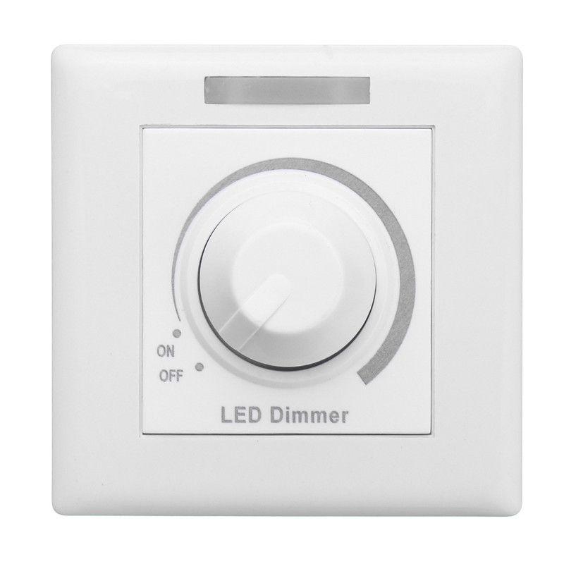 110ボルト 220ボルト壁ディマースイッチmax 150ワットledディマー付き12キーirリモート制御用調光器対応ランプ電球 Led Dimmer Dimmer Switch Light Accessories