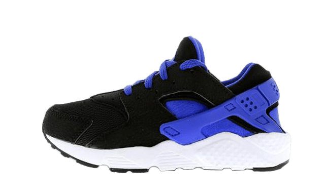 Find out all the latest information on the Nike Air Huarache Junior Black  Blue, including release dates, prices and where to cop.