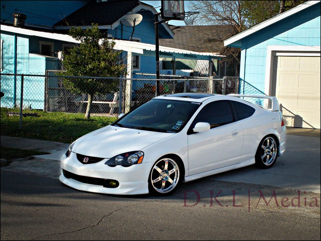 hight resolution of acura rsx type s white