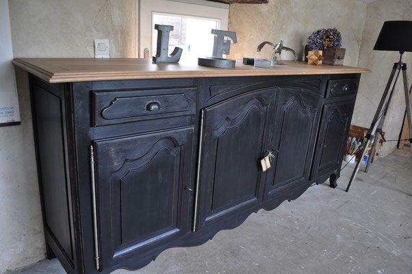 Quelques Realisations Ii Site Des Patines De Melusine Furniture Update Furniture Makeover Painted Furniture