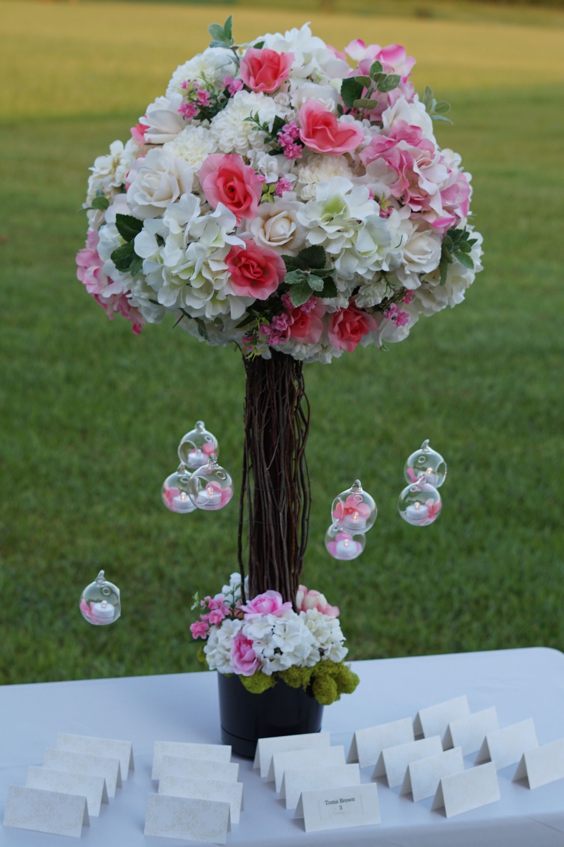 Pretty in Pink Branch DIY Wedding Centerpiece for Your ...