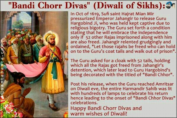 Image result for bandi chhor divas quote