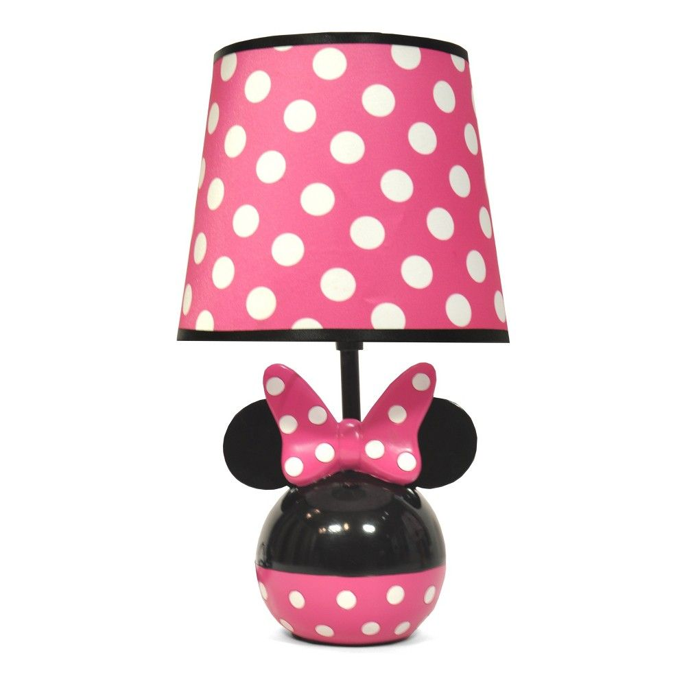 Mickey Mouse Friends Minnie Mouse Table Lamp With Lightbulb
