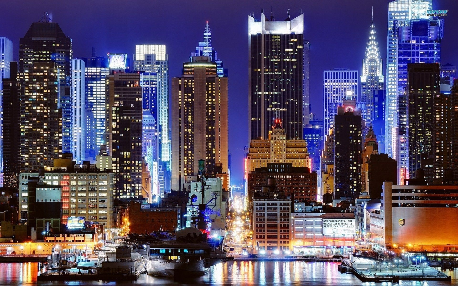 New York Full Hd Wallpapers New York City Sehir Times Square