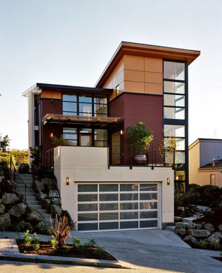 Contemporary Home Exterior Design Ideas: Panel Type Rainscreens - Google Search