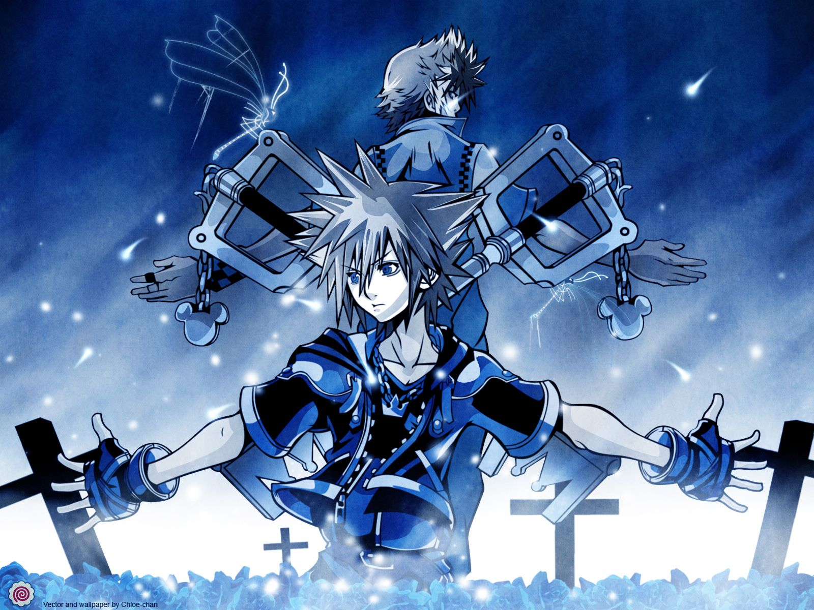 Roxas And Sora Imagenes Manga Videojuegos Fondo De Pantalla Kingdom Hearts