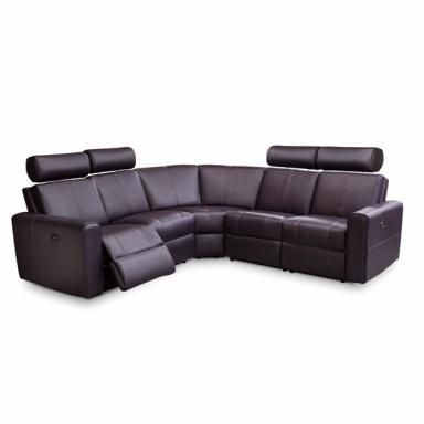 All Genuine Top Grain Leather Two Power Motion Recliners With Leggett Amp Platt Mechanisms 3 X2f 4 Quot Thick Kiln Dried Power Recliners Recliner Sectional