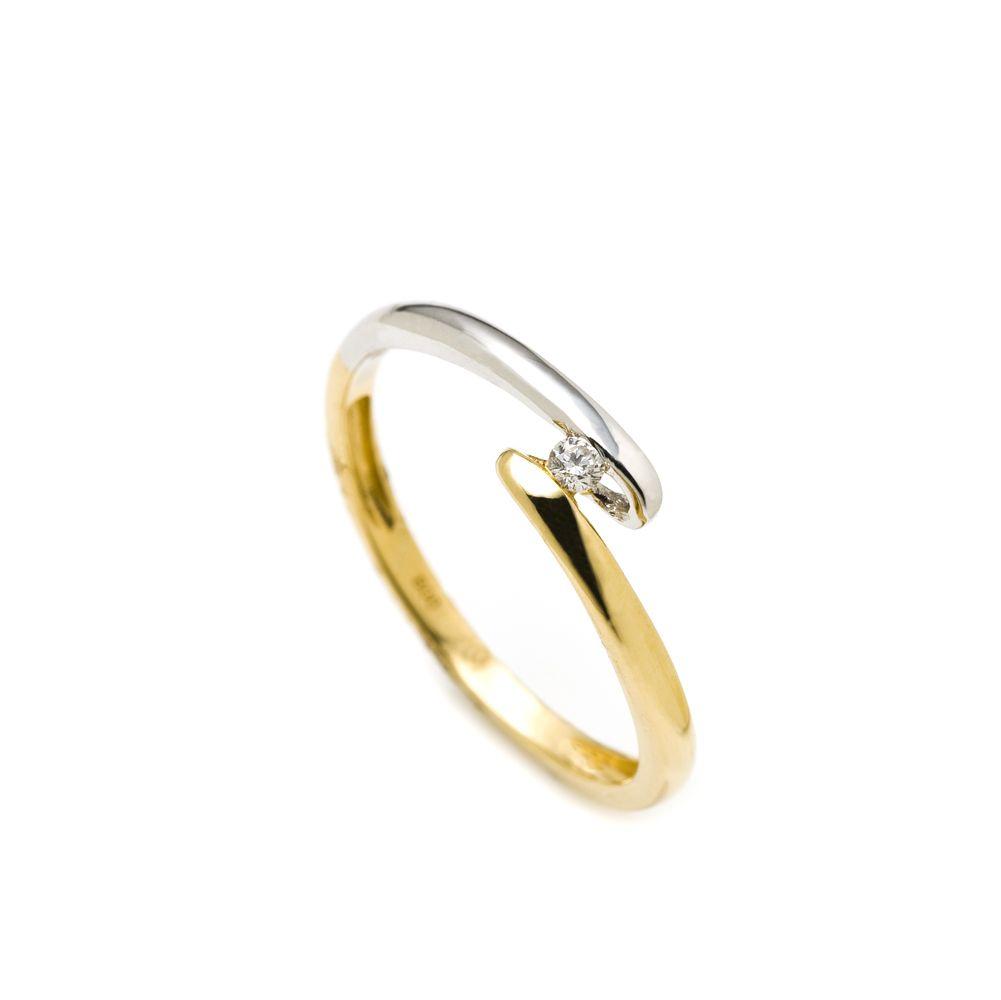 Anel Solitario Ouro Diamante Docci Jewelry Jewelry Gold Rings
