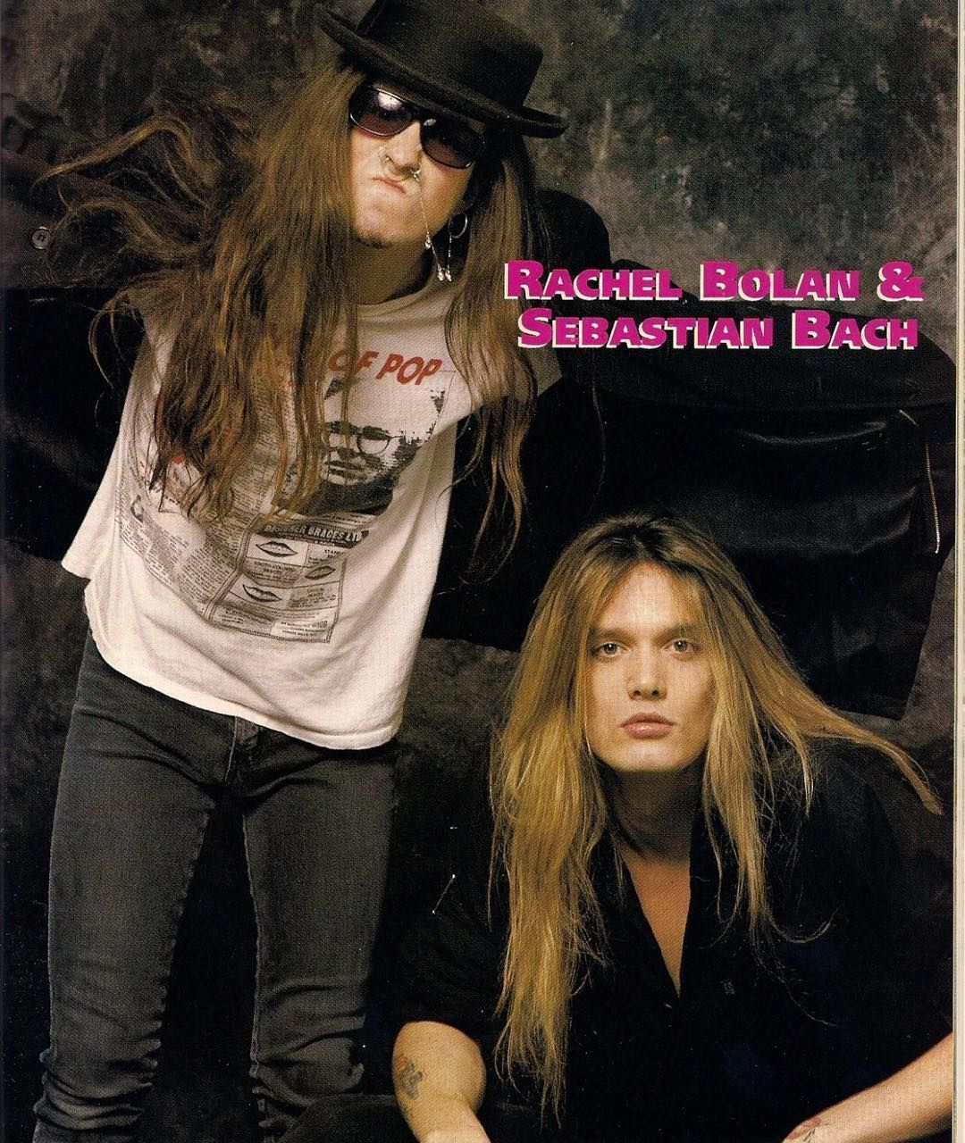 105 Curtidas 2 Comentários Glam Rock Glam Rock 80s No Instagram Rachel And Sebastian Band Skid Row Skid Row Band Sebastian Bach
