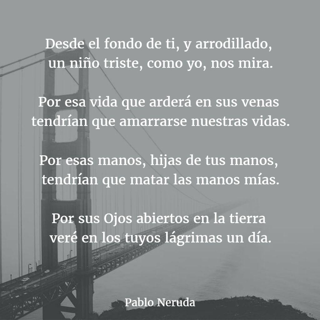 Poemas De Pablo Neruda 2 Poemas Versos Neruda