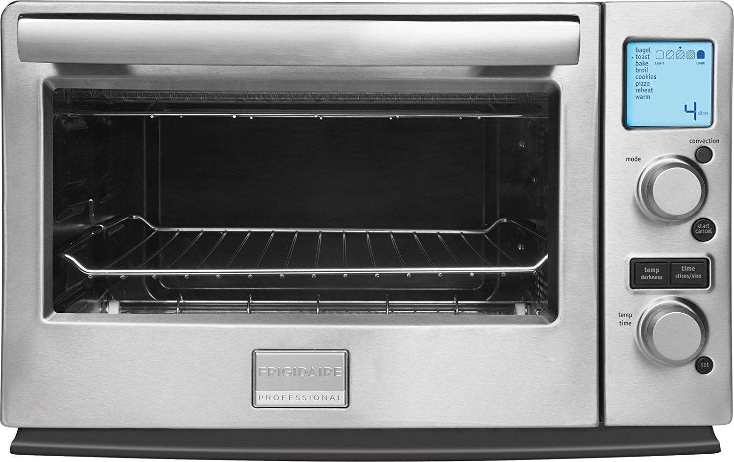 Frigidaire Professional Stainless Programmable 6 Slice Infared Convection Toaster Oven Check O With Images Toaster Oven Convection Toaster Oven Frigidaire Professional