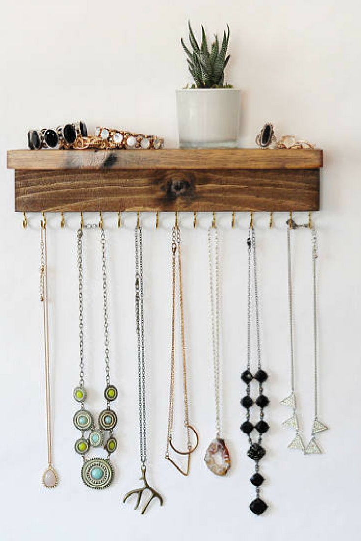 Jewelry Organizer For Necklaces or Bracelets etsy