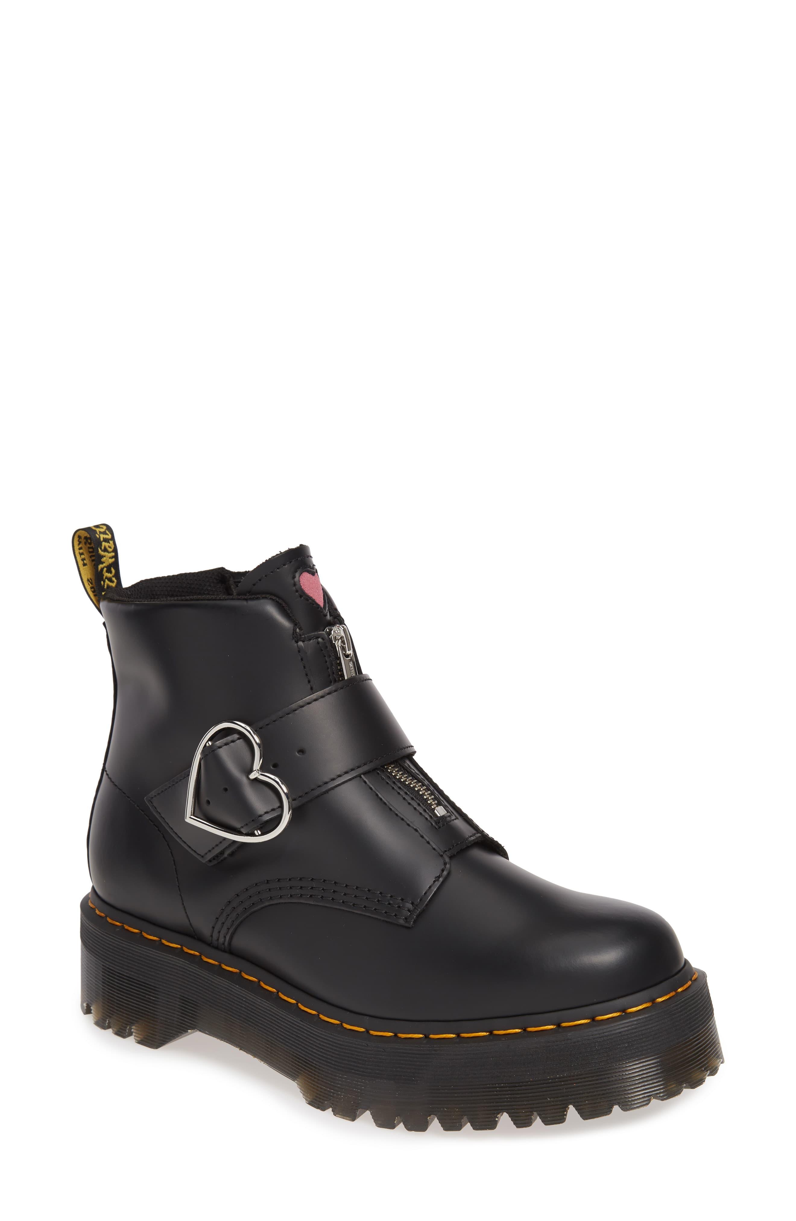 Dr. Martens x Lazy Oaf Buckle Boot (Women) | Nordstrom