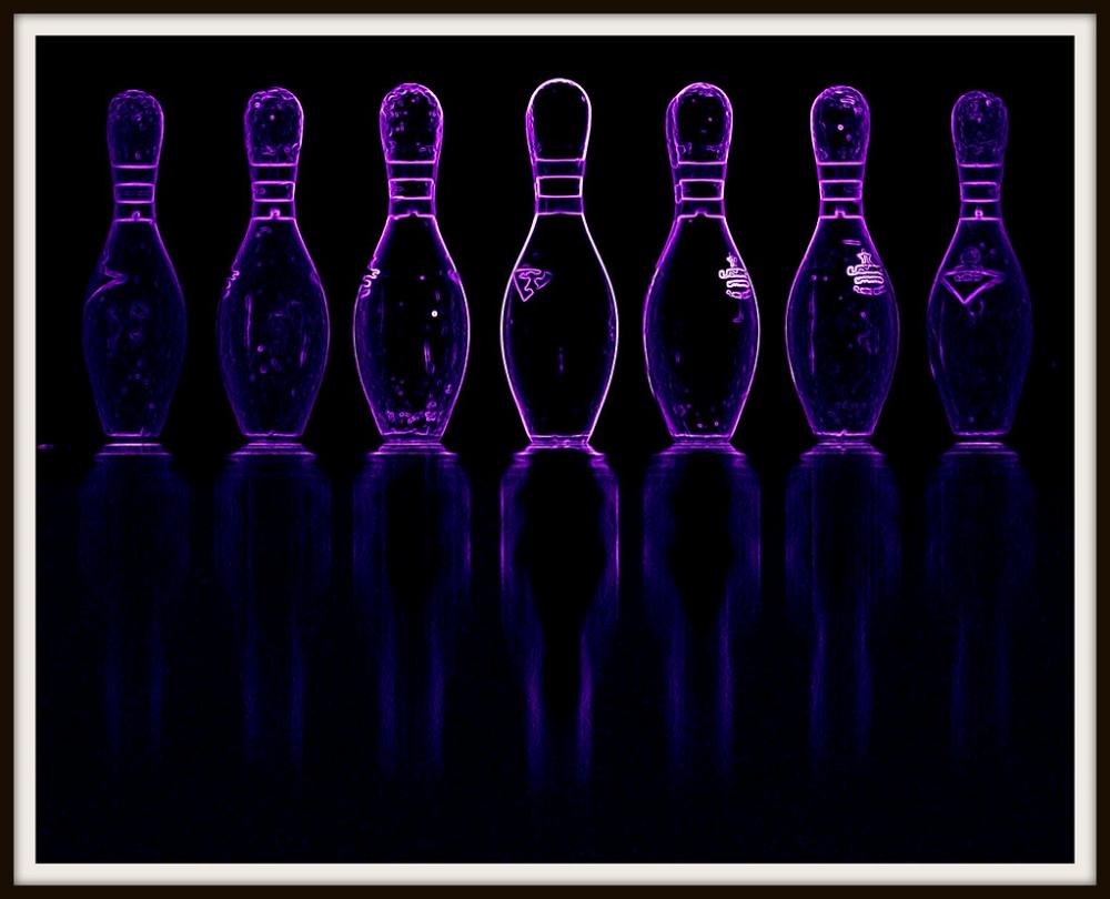 Neon Bowling Pins Google Search Purple Bowling Pins Neon