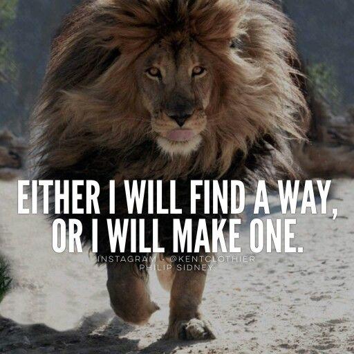 I'll find a way