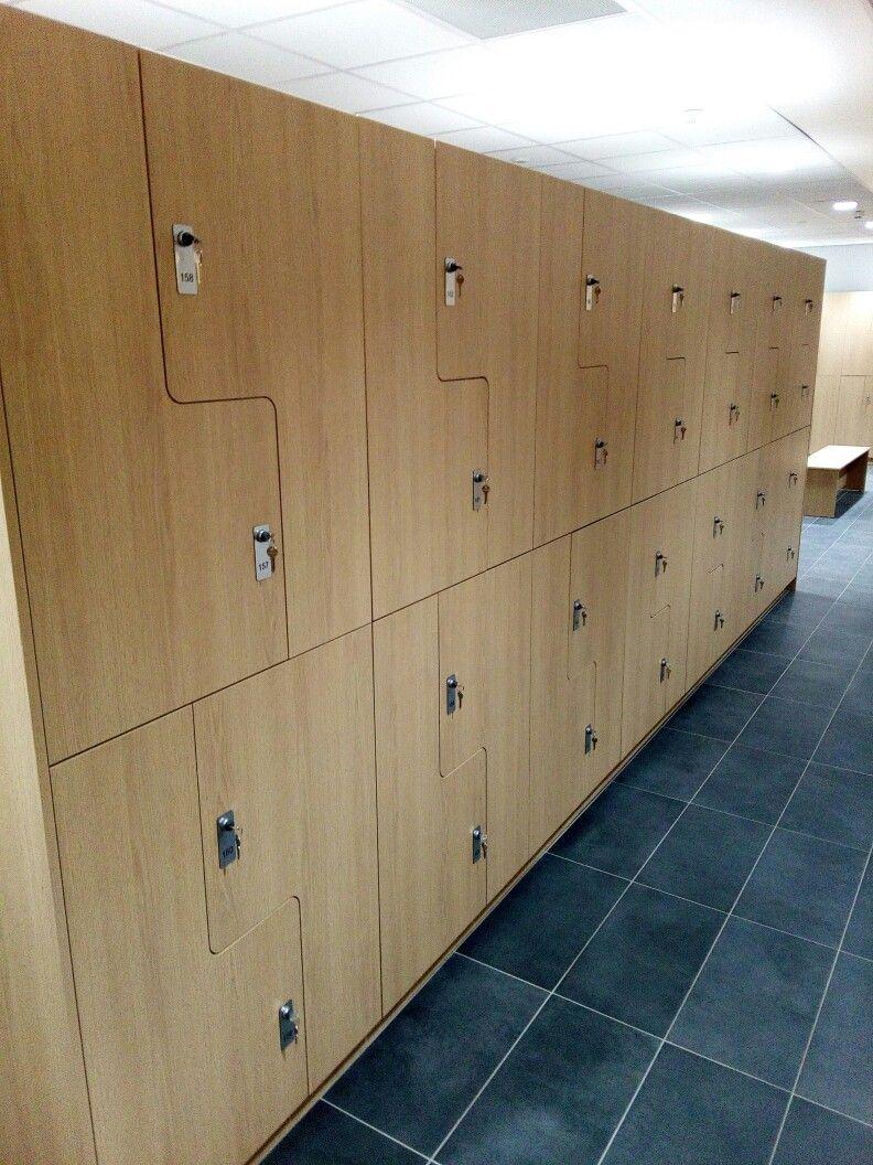 A Z configuration locker is a great