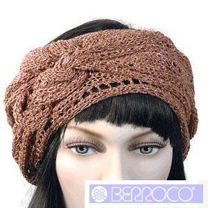 Lurema Knitted Ladies Head Scarf Pattern By Berroco Free