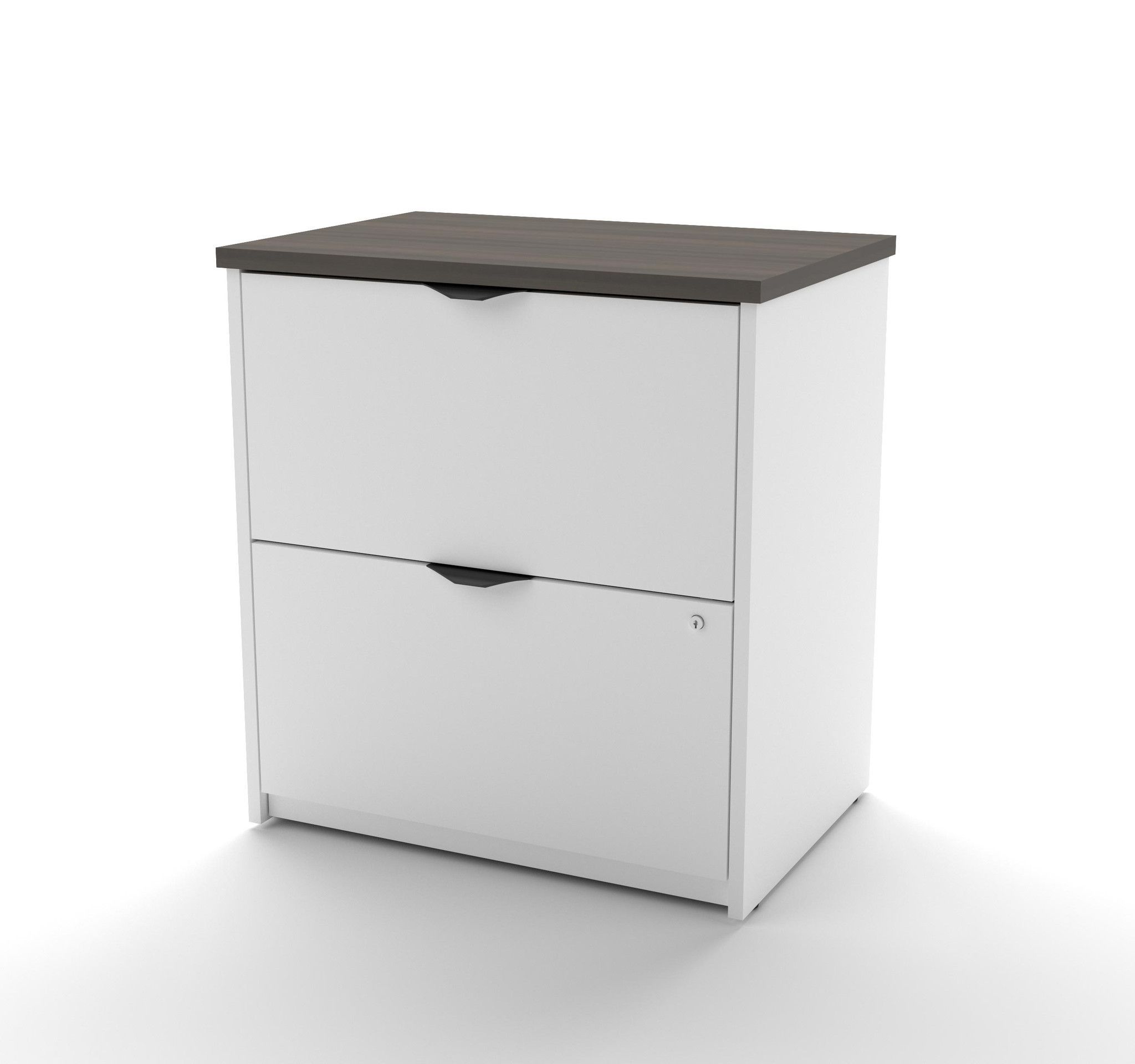 Modern Lateral File Cabinets premium lateral file cabinet in modern white & antigua | products