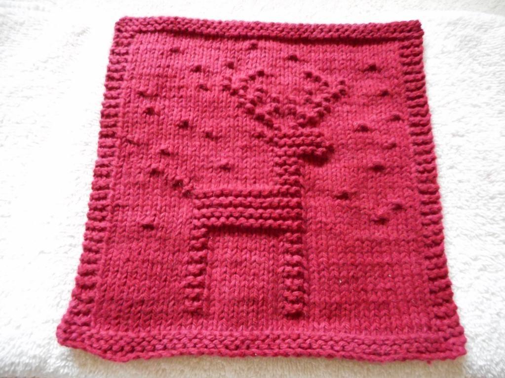 reindeer dishcloth by bubweez2745645 knitting pattern