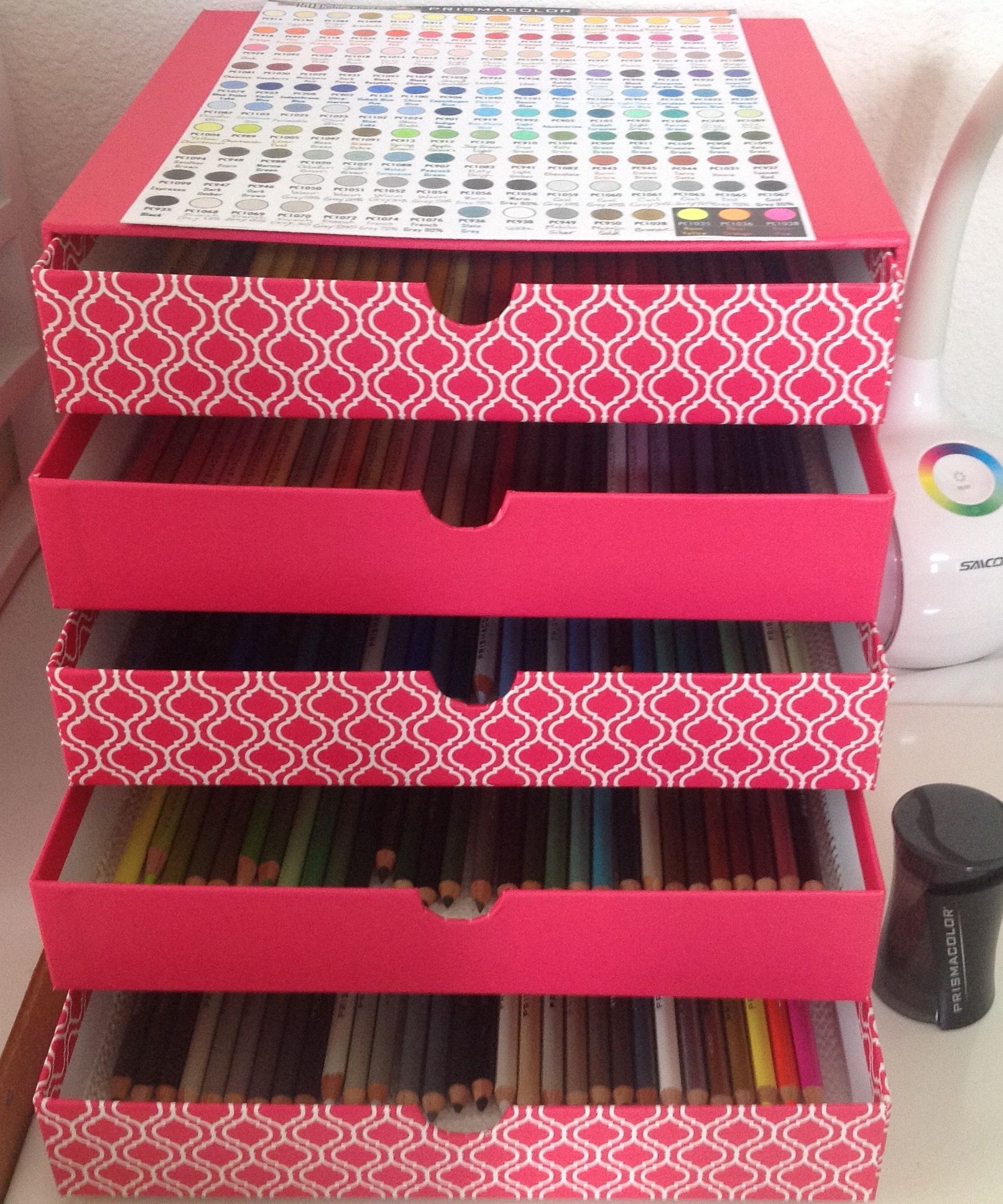 Organize colored pencils art pinterest colored pencils