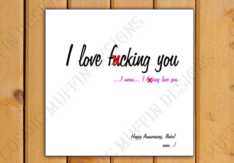 I Love F Cking You