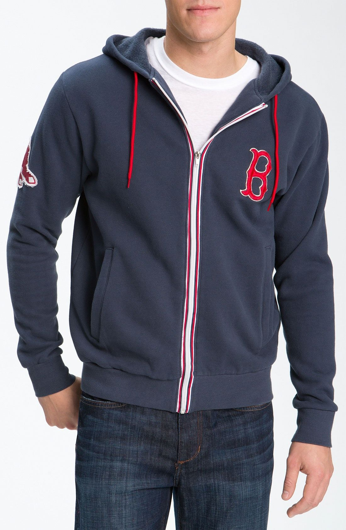 promo code c7aee 4ec74 New Wright and Ditson 'Boston Red Sox' Hoodie ,BLACK fashion ...