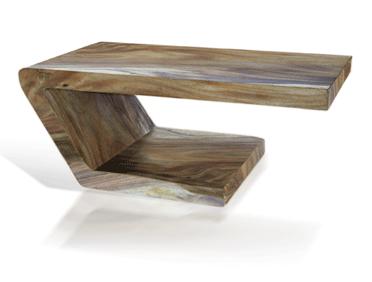 tucker robins - balance coffee table - iron oxide wash