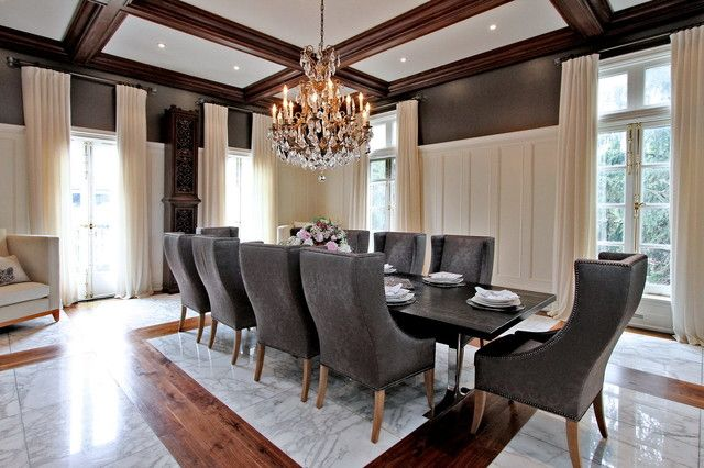 Deluxe Dining Room Images For Your Future Home  Feel The Amazing Mansion Dining Rooms Design Inspiration