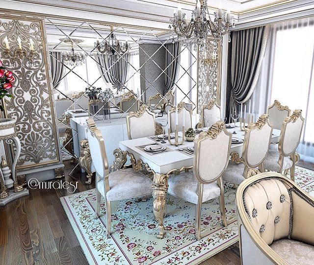 35 Luxury Dining Room Design Ideas: Luxury Dining Room, Luxury Living Room
