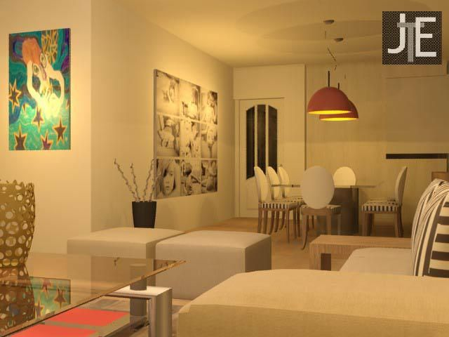 Salas modernas salas y comedores decoracion de living for Deco de living comedor