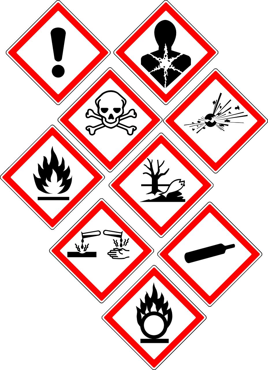 Free Image On Pixabay Warning Danger Signs Symbols Danger Signs Symbols Hazard Risk