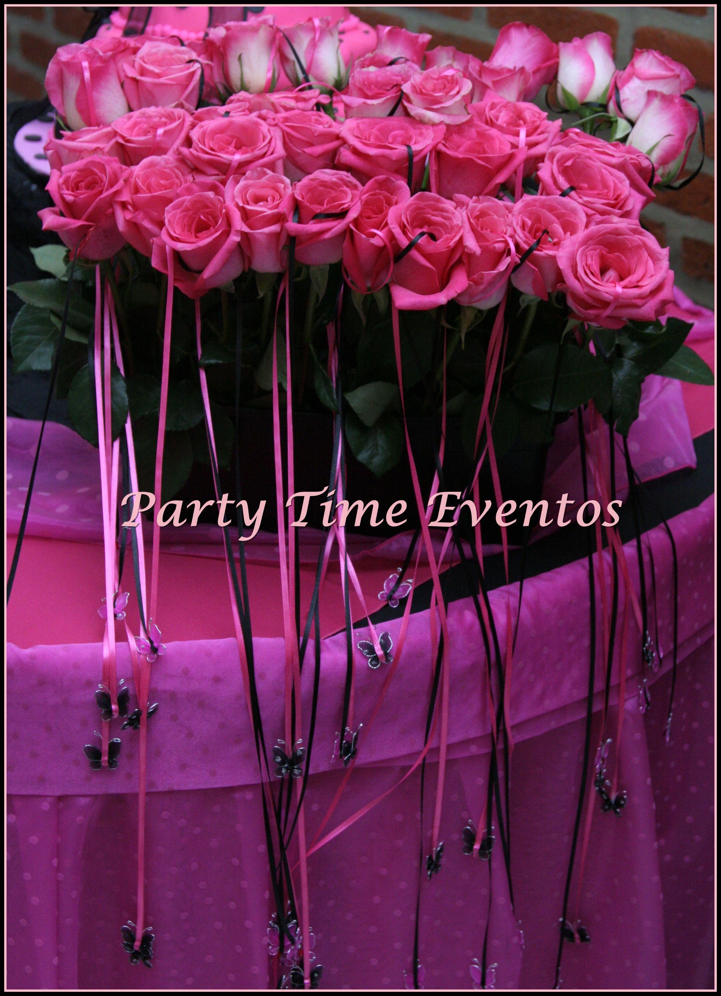 Ceremonia De Cintas Con Rosas Naturales 15 A 241 Os De Mili
