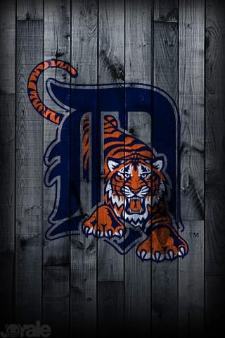 Mlb Iphone Wallpapers Detroit Tigers Detroit Tigers Baseball Detriot Tigers