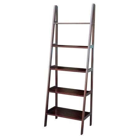 5 Shelf Ladder Bookcase As Shown