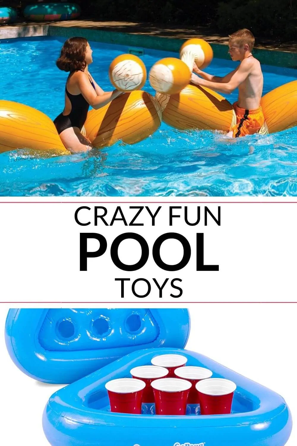 Crazy Fun Swimming Pool Toys You Need It Is A Keeper Swimming Pool Toys Cool Swimming Pools Pool Toys