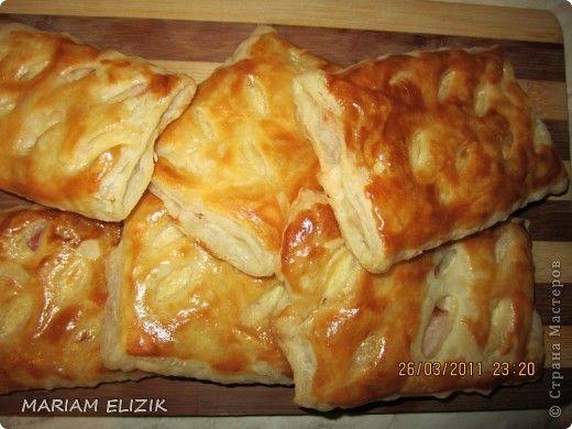 Хачапури с сыром и ветчиной рецепт