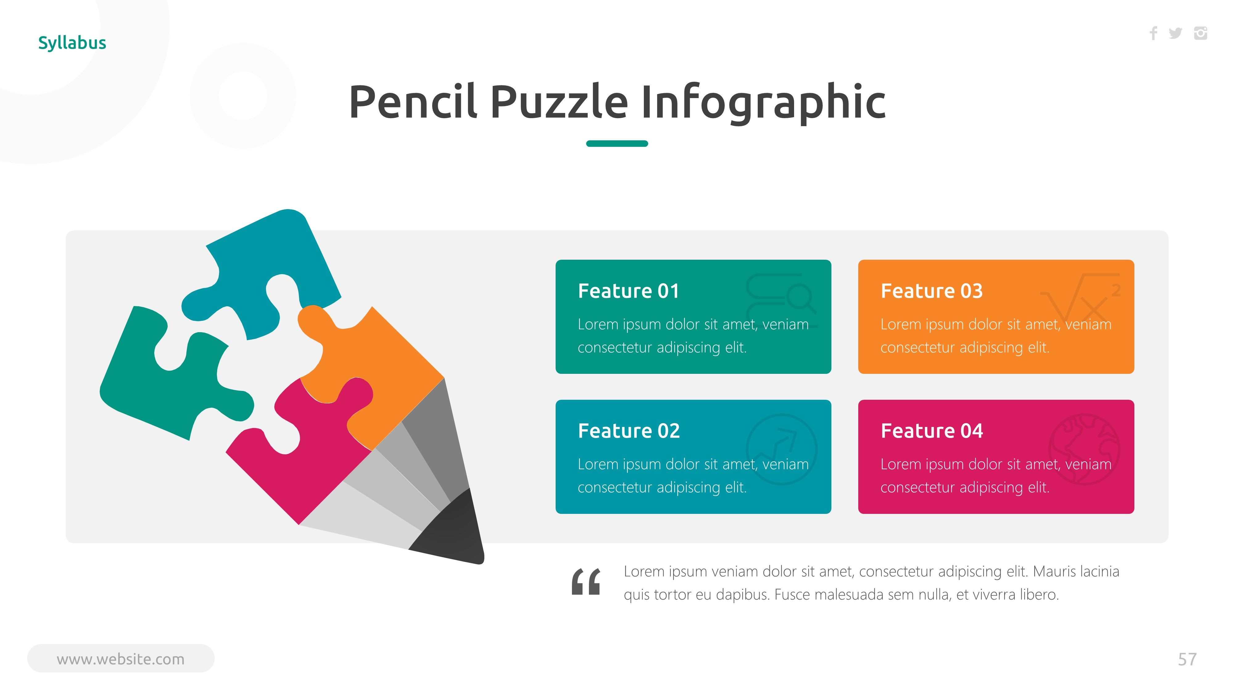 Syllabus Education Powerpoint Template With Images