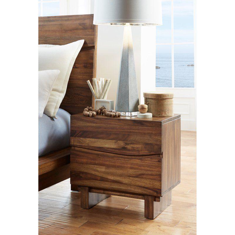 Modus Ocean 2 Drawer Nightstand 8c7981 Furniture Modus Furniture Nightstand