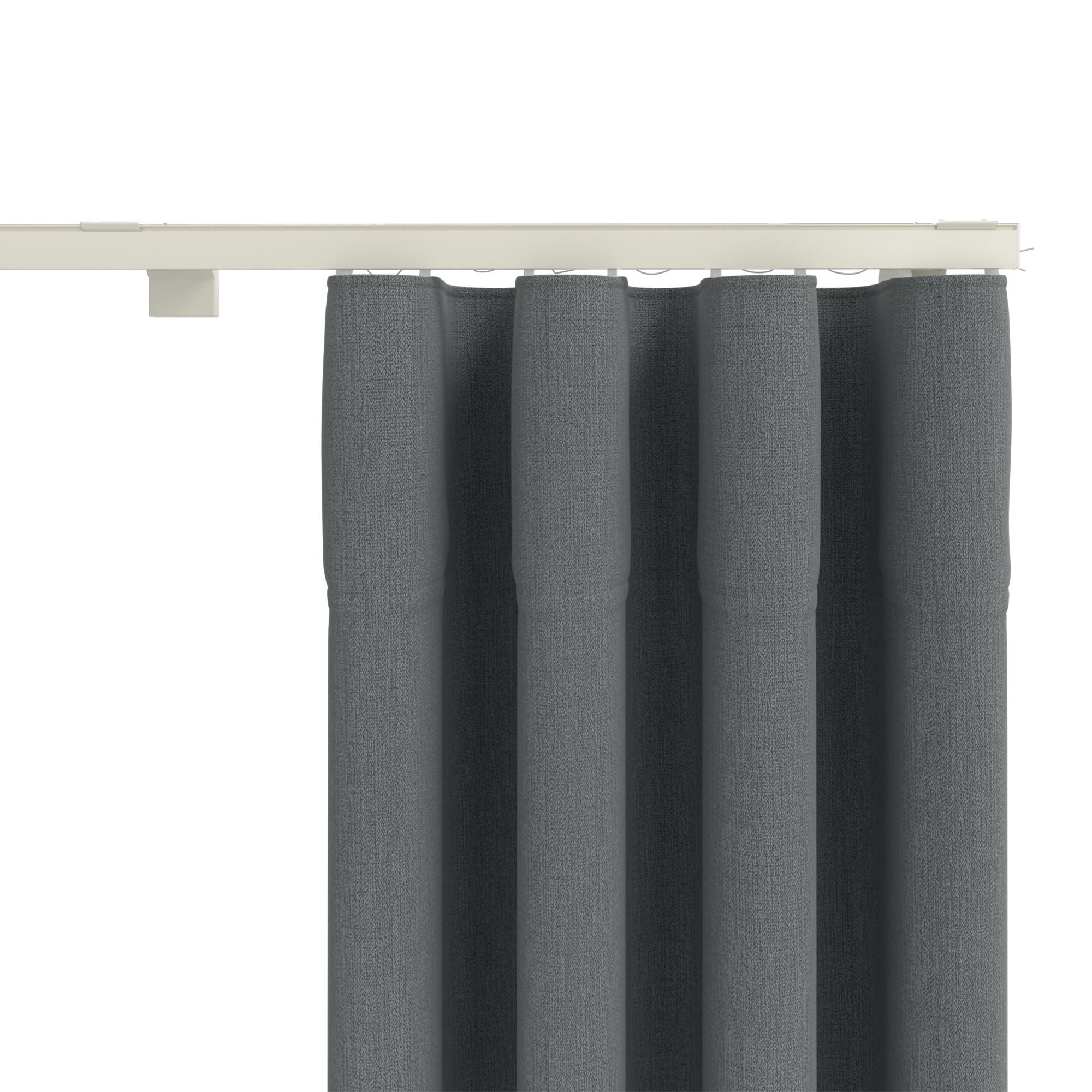 Smart Pleat Eyelet Effect Extendable Curtain Track In 2020