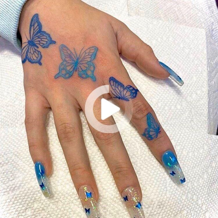 Redrosebaddie On Instagram Would You Guys Get A Butterfly Hand Tattoo Dm Me For Cheap In 2020 Butterfly Hand Tattoo Hand Tattoos Butterfly Tattoo