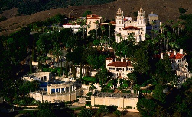 12 Awe Inspiring American Castles. 12 Awe Inspiring American Castles    San simeon california  San