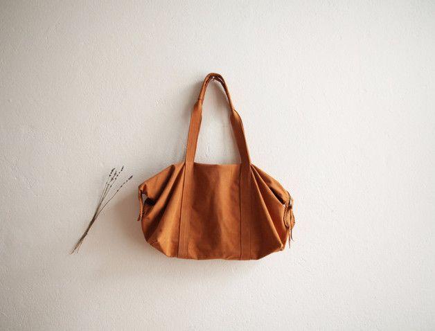 Handtasche - Handtasche für den Alltag und Wochenendausflug - ein Designerstück von thewhiteribbon-berlin bei DaWanda