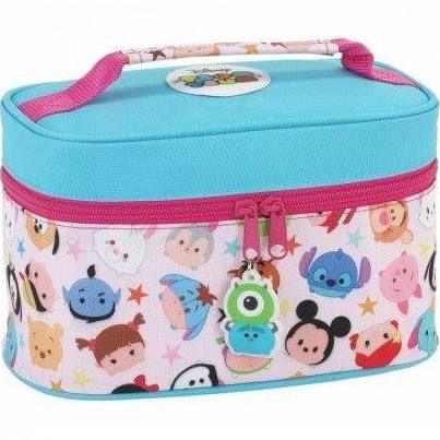 cute tsum tsum lunch box blue picnic lunch Double layer keep warm U151 love