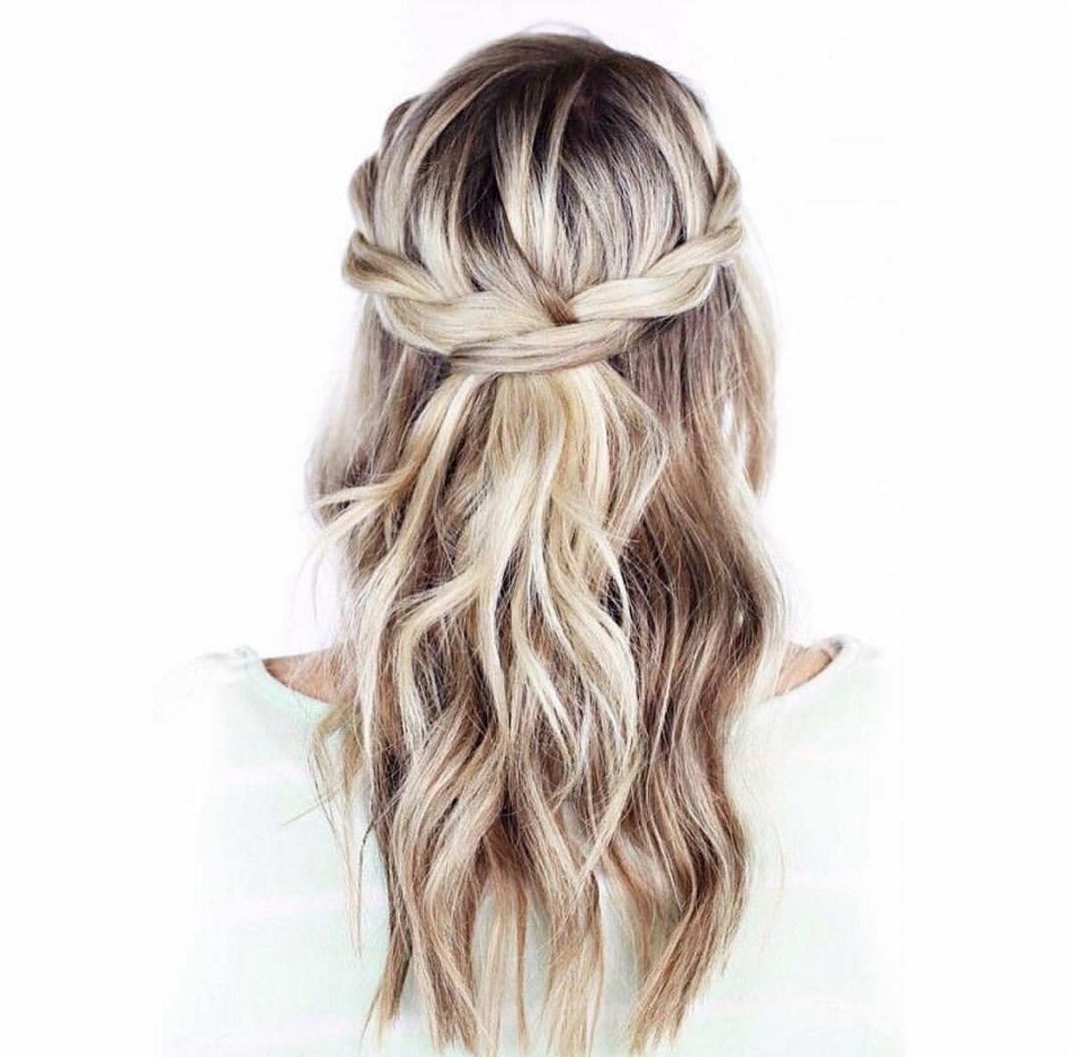 Pin by ♡ on H a i r s t y l e s | Pinterest | Bridal braids, Night ...