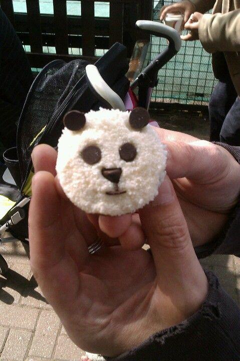 Mini panda cakes at Edinburgh Zoo | Panda cakes, Eat cake ...